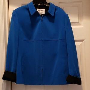 Kasper blue/black blazer